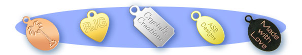 Custom Engraved Jewelry Tags