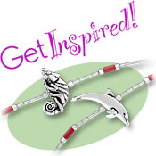 Get Inspired! Sterling Silver Beads