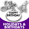 Holidays & Birthdays