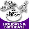 Holidays & Birthdays