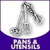 Pans & Utensils