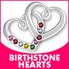 Birthstone Hearts