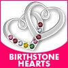 Birthstone Hearts