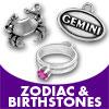 Zodiac & Birthstones