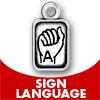 Sign Language Charms