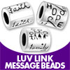 Luv Links Message Beads