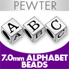 Pewter 7mm Beads