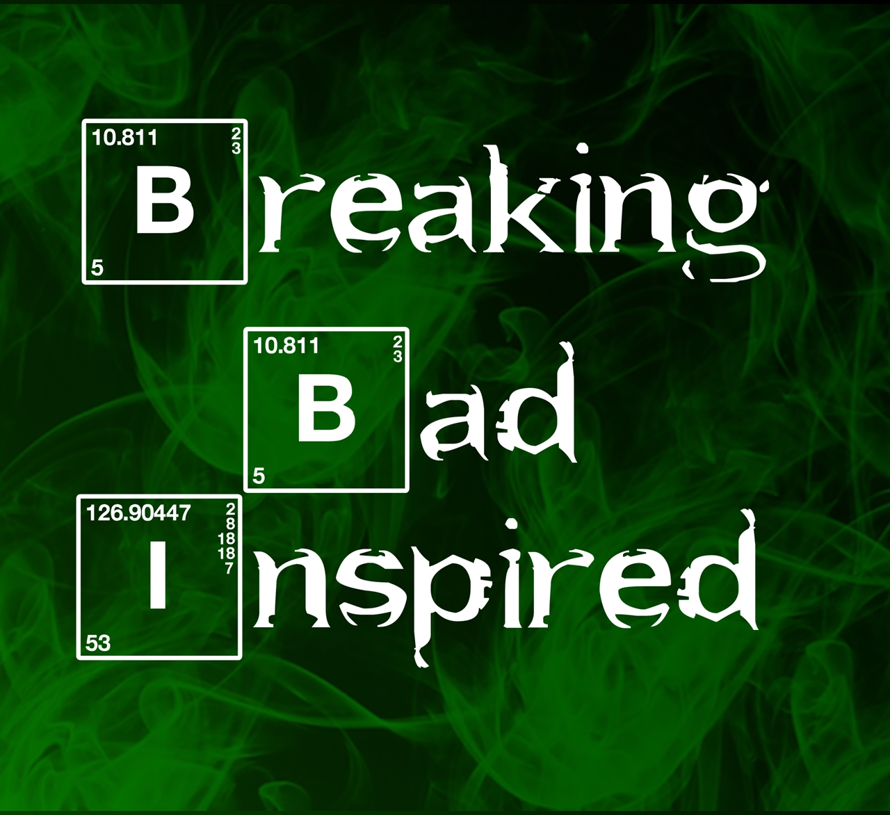 Breaking Bad Inspired Sterling Silver Charms