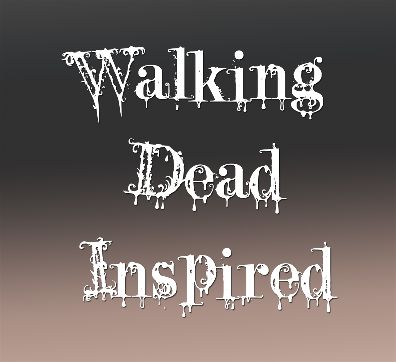 Walking Dead Inspired Pewter Charms