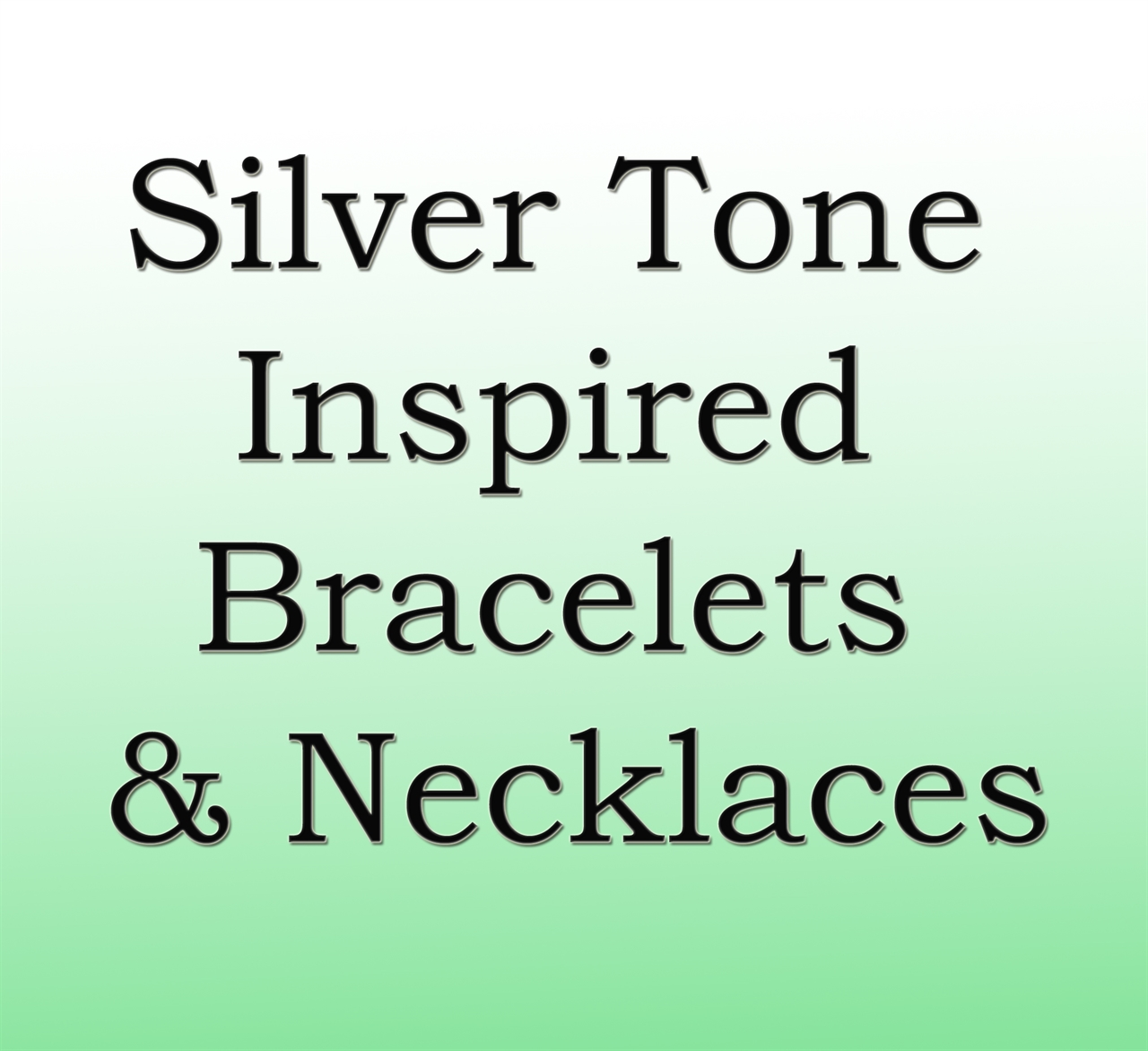 Silver Tone Inspired Bracelets