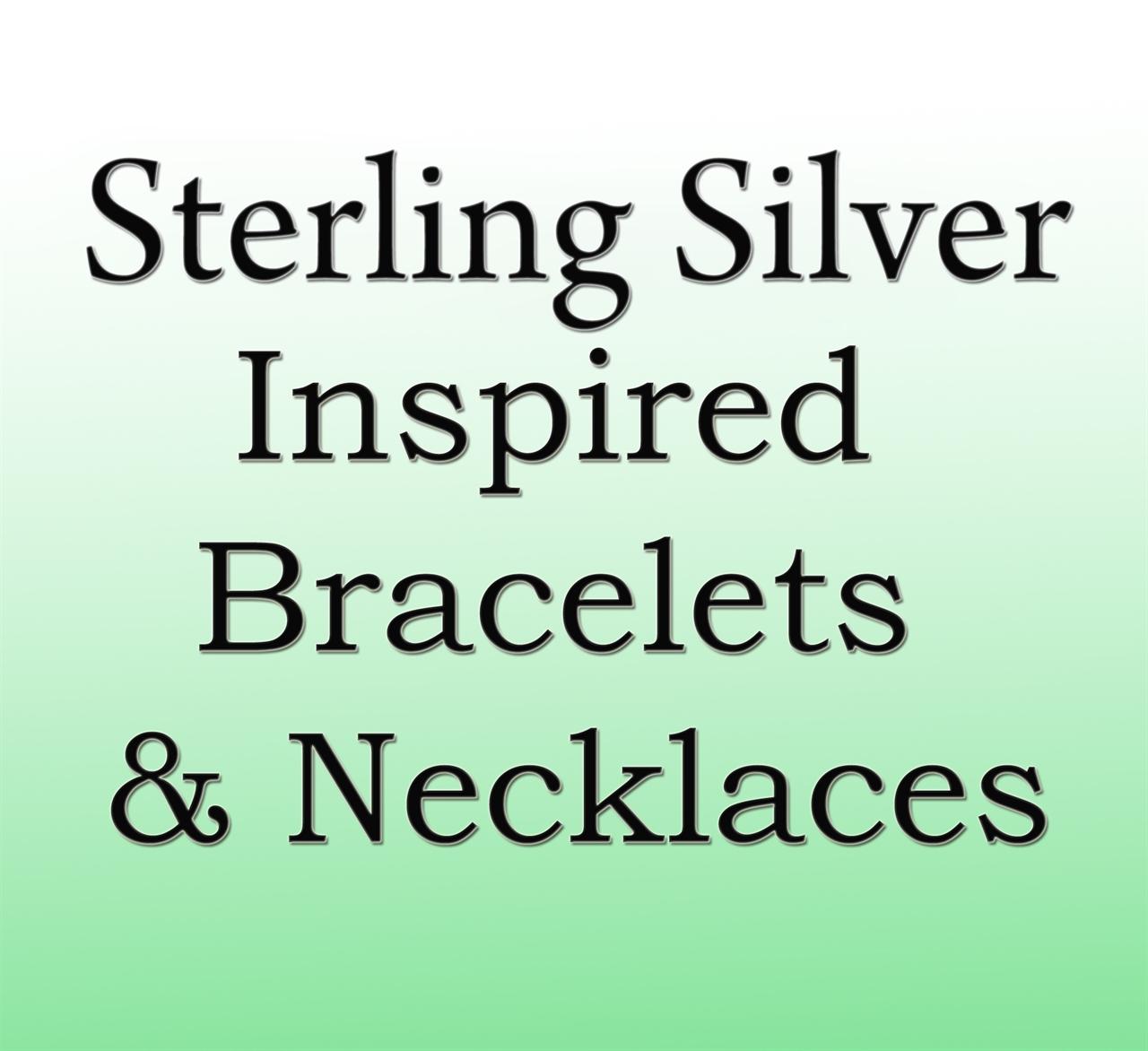 Sterling Silver Inspired Bracelets