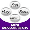Mini Message Beads