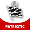 pewter patriotic