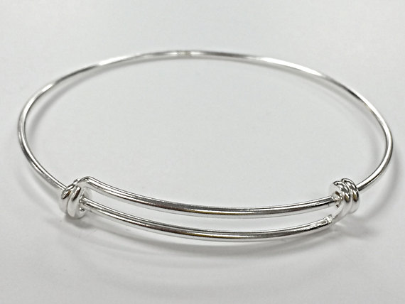 Sterling Silver Adjule Bangle Bracelet