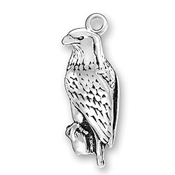Sterling Silver Bald Eagle Charm