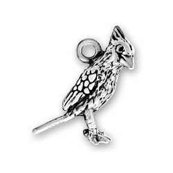 Sterling Silver Cardinal Charm