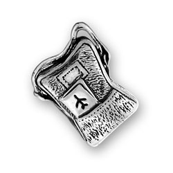 Sterling Silver Carry On Bag Charm