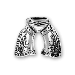 Sterling Silver Chaps Charm