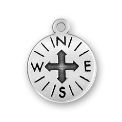 Sterling-Silver-Compass-Charm