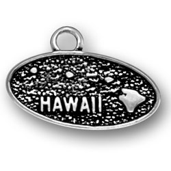 Sterling Silver Hawaii Charm