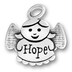 Sterling Silver Hope Angel Charm