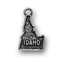 Sterling Silver Idaho Charm