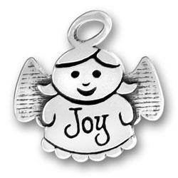 Sterling Silver Joy Angel Charm