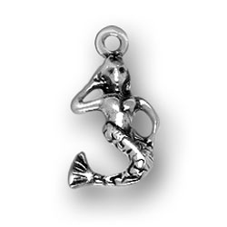 Sterling Silver Mermaid Charm