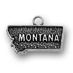 Sterling Silver Montana Charm