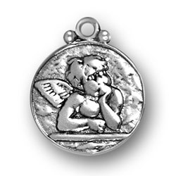 Sterling Silver Raphael's Angel Charm