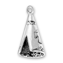 Sterling Silver Teepee Charm
