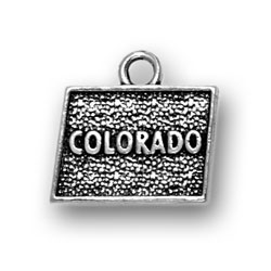 Sterling Silver Colorado Charm