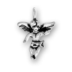 Sterling Silver Small Angel Charm