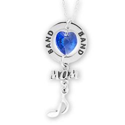 Band Mom Affirmation Necklace