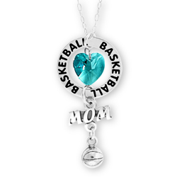Basketball Mom Affirmation Necklace