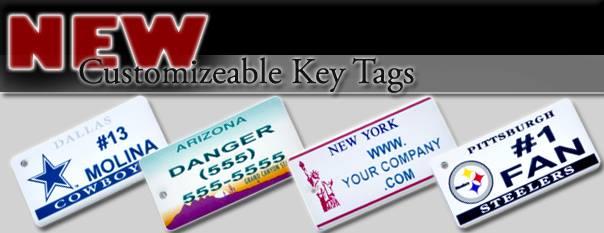 Customizable Key Tags