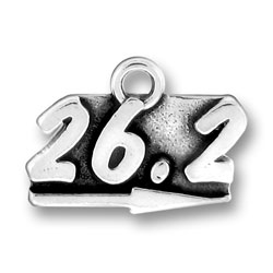 Running Marathon Charm 26.2