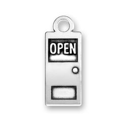 Door Open And Closed Charm Image