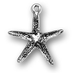 Sterling Silver Starfish Charm Image