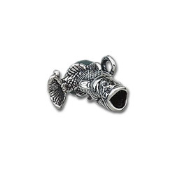 Large Mouth Bass Charm Image