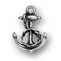 Anchor With Rope Charm Image