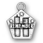 Remember The Twin Towers Charm Image
