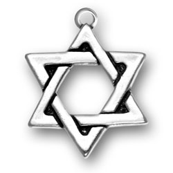 Large Star Of David Charm Image