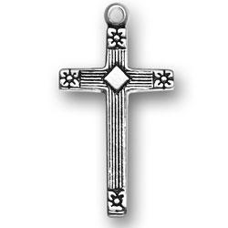 Thin Cross Charm Image