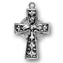 Celtic Cross Charm Image
