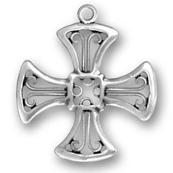 Large Cross Charm Image