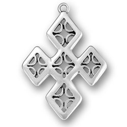Diamond Cross Charm Image