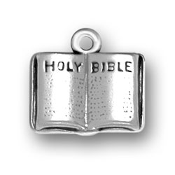 Open Holy Bible Charm Image