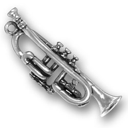 Trumpet Charm Image