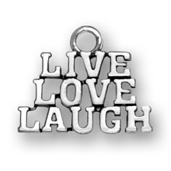Live Love Laugh Charm Image